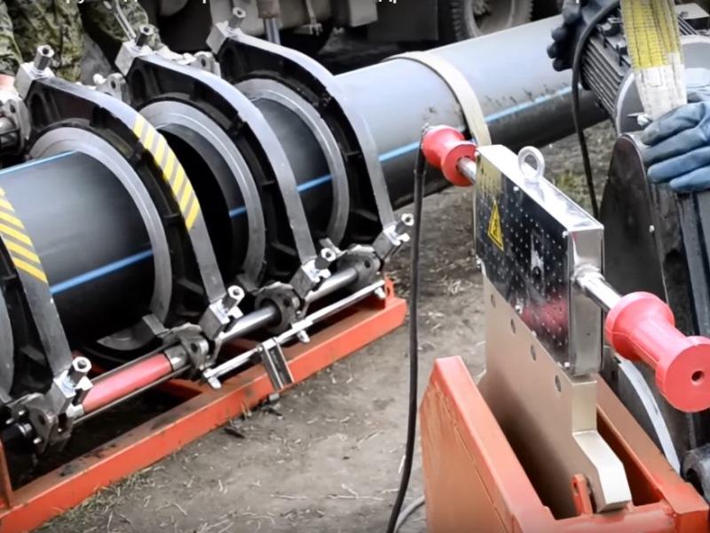 Строительство межпоселкового полиэтиленового газопровода